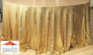 paviljo blizgi auksine staltiese nuoma